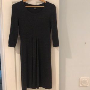 J. Crew - Grey Wool/Cashmere Dress